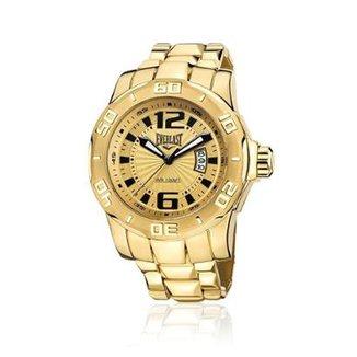 Relógio Everlast Analógico Cx e Pulseira Aço Masculino 10b1e3ceff