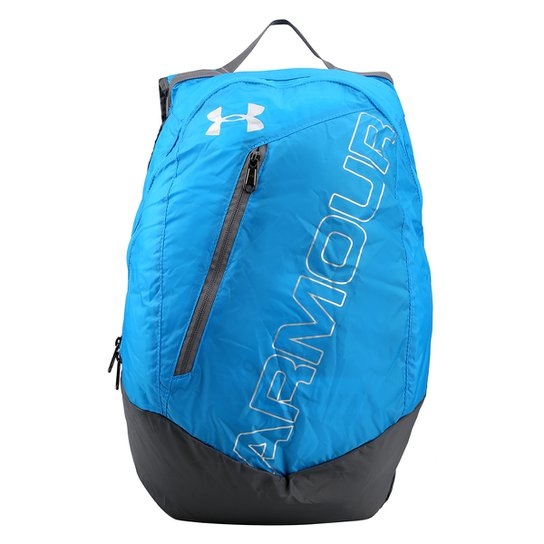 Mochila Under Armour Adaptable - Azul Piscina+Cinza 1e72d03b5faee