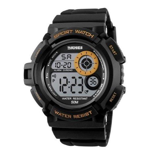 498f3425ef1 Relógio Skmei Digital 1222 - Dourado - Compre Agora