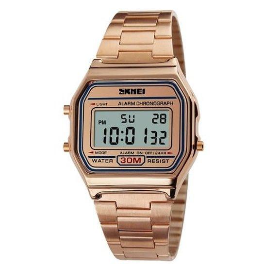 4d166c62204 Relógio Skmei Digital 1123 - Dourado - Compre Agora