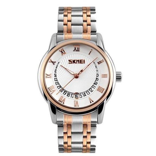 e9c2571ec5c Relógio Skmei 9122 - Dourado - Compre Agora