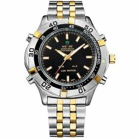 be04b75941b Relógio Weide Anadigi WH-6102 - Prata - Compre Agora