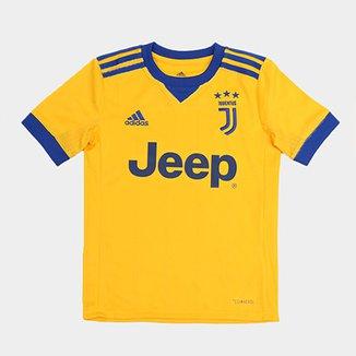 1de90671aff1c Camisa Adidas Juventus Away 17 18 s nº Infantil Torcedor