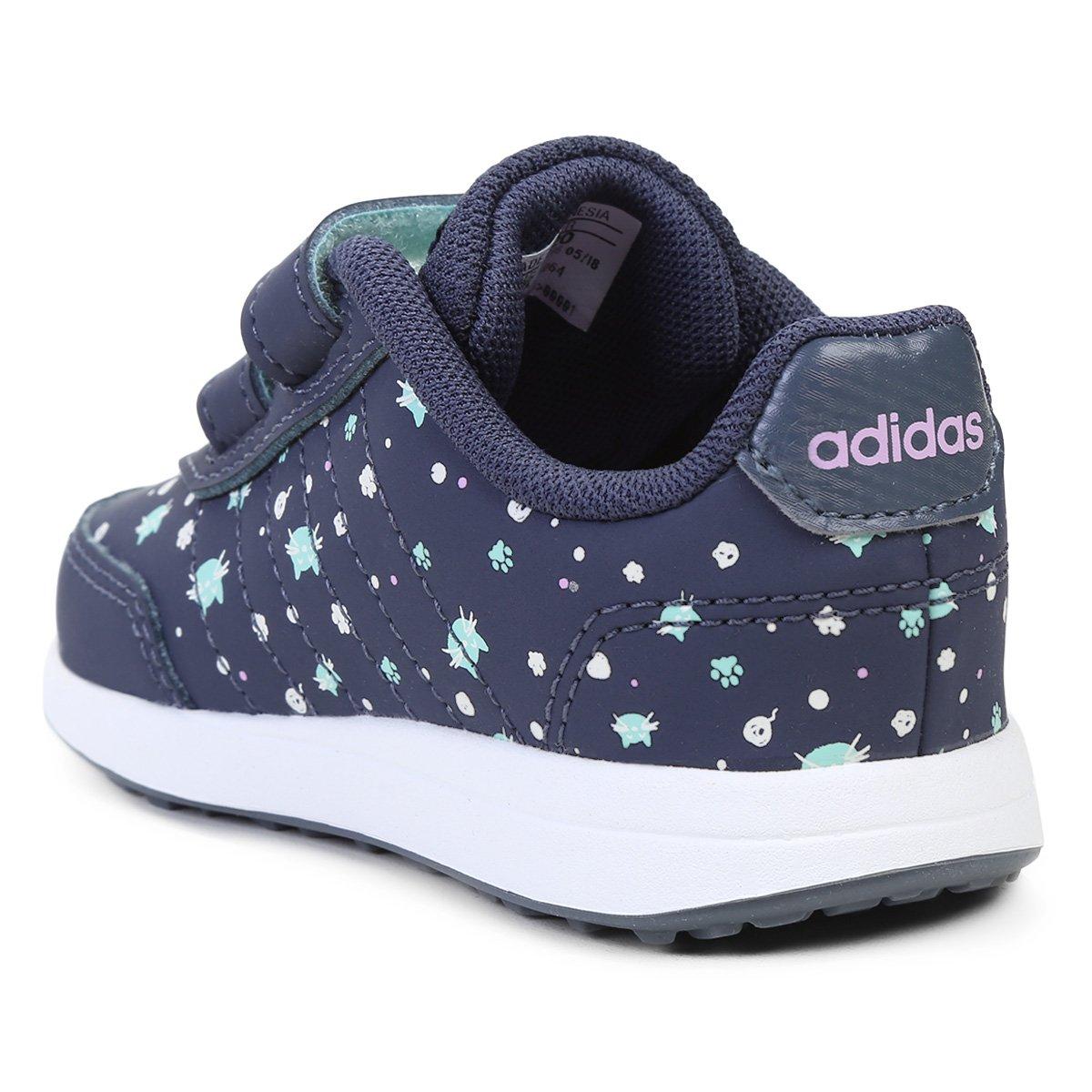 d0db7d8d7558d Tênis Infantil Adidas Vs Switch 2 Cmf Feminino | Opte+