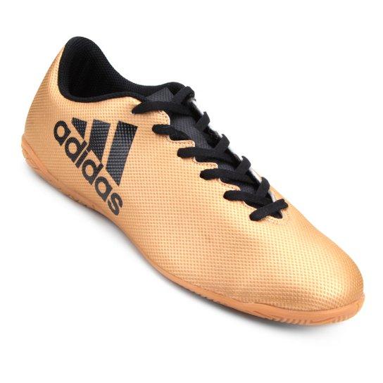 192901127c75b Chuteira Futsal Adidas X 17 4 In - Dourado | Netshoes
