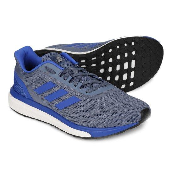 Tênis Adidas Response Masculino - Azul e Cinza - Compre Agora  9d639a466f09f