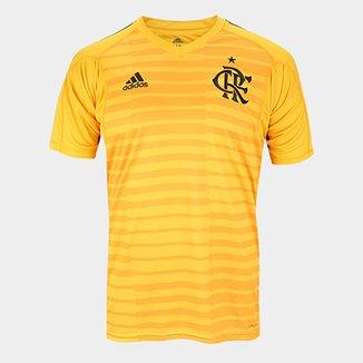 da0f3c31fc Camisa de Goleiro Flamengo I 2018 s n° Torcedor Adidas Masculina