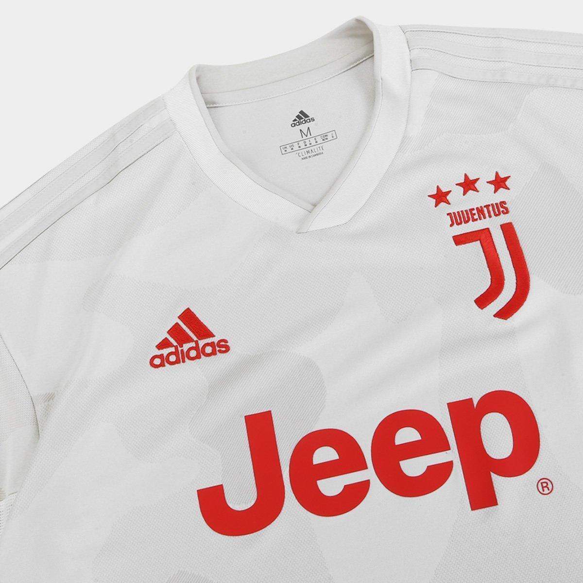 Camisa Juventus Away 19/20 s/nº Torcedor Adidas Masculina - Tam: M - 2
