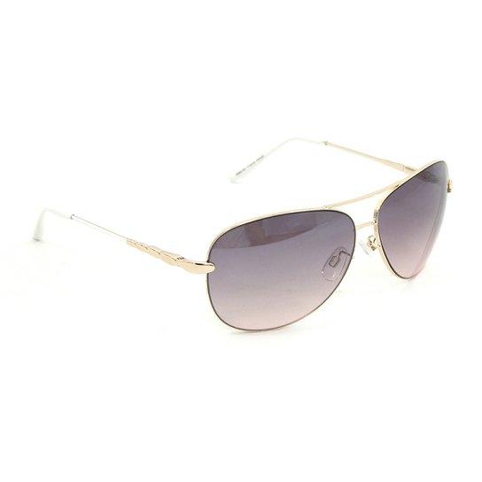 4a4e3b3b98b35 Óculos Bijoulux de Sol Aviador Degradê - Compre Agora
