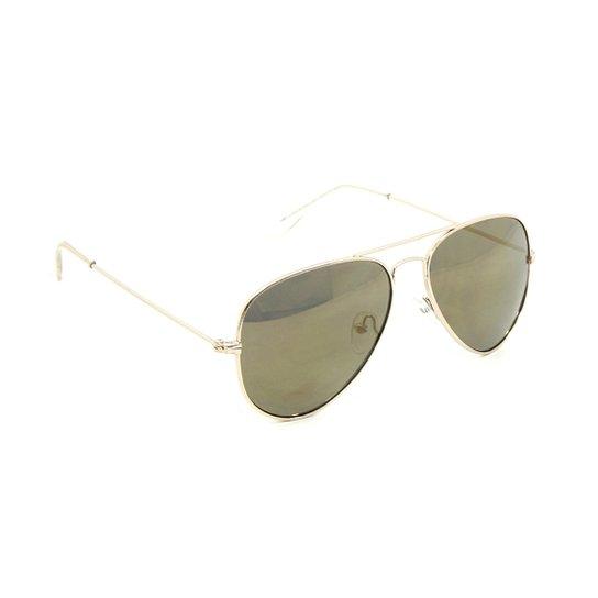Óculos Bijoulux de Sol Aviador Espelhado - Compre Agora   Netshoes 7342edc8a7