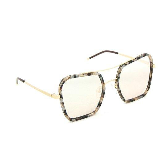 1f7779684 Óculos Bijoulux Quadrado Oncinha Espelhado | Netshoes