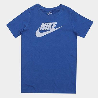 Camiseta Infantil Nike Ctn Crew Fut Icon TD Tee