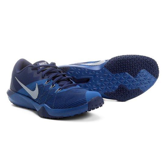 8fa8fe8473b Tênis Nike Retaliation TR Masculino - Azul e Cinza - Compre Agora ...