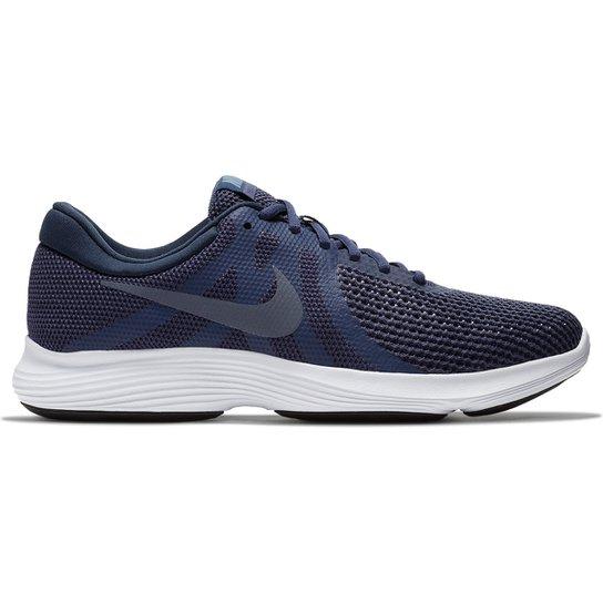 71933399e95 Tênis Nike Revolution 4 Masculino - Azul e Cinza - Compre Agora ...