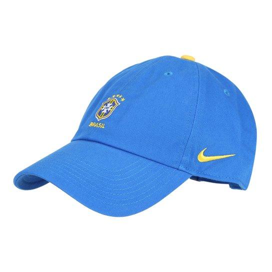 646b38e916 Boné Nike CBF Aba Curva H86 - Compre Agora