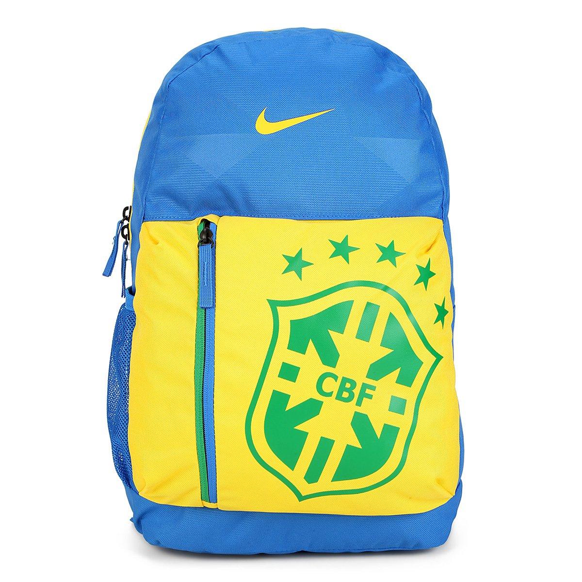 7e98bc683 FornecedorNetshoes. Mochila Brasil Infantil Nike CBF Stadium