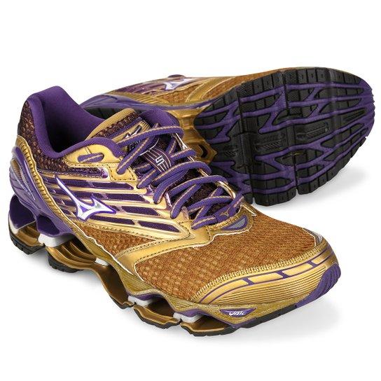 71cd94e6e66ec Tênis Mizuno Wave Prophecy 5 Golden Runners Feminino | Netshoes