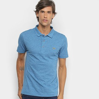 Camisa Polo Lacoste Logo Super Light Masculina 54a11cddf6