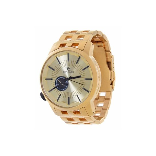aaf677aee65 Relógio Rip Curl Detroit Gold SSS Gold - Dourado