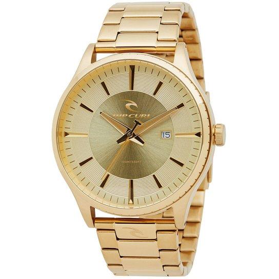 e27f23a0f84 Relógio Rip Curl Agent Gold SSS - Dourado - Compre Agora