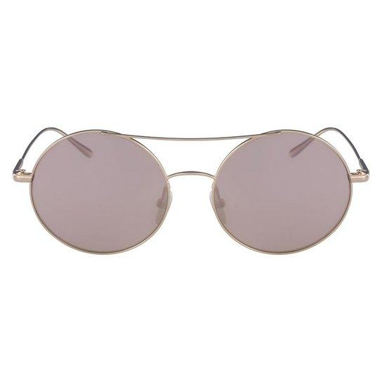 Óculos de Sol CK - Dourado - Compre Agora   Netshoes 0805f88f8a