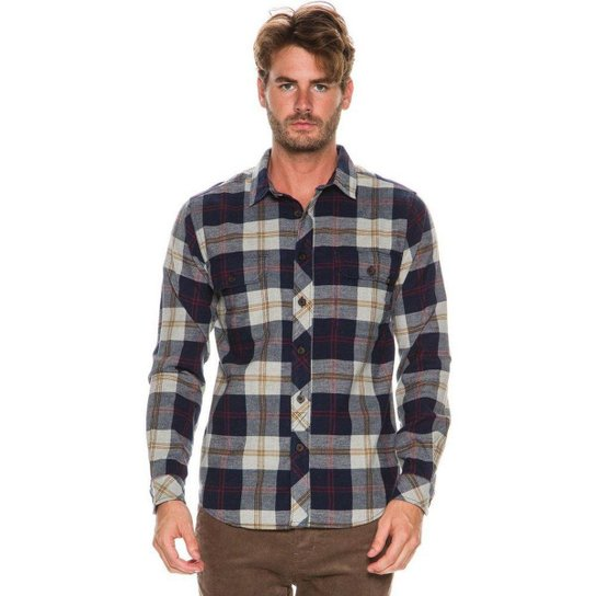 Camisa Billabong M L Grayson Xadrez - Compre Agora  266f5e7c528