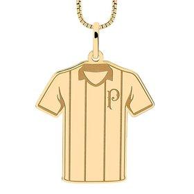 Pingente Infantil Palmeiras Camisa Listrada Folheado a Ouro b8eae4975568b