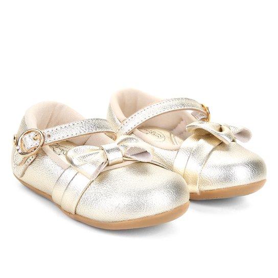 d418eae7e Sapato Infantil Klin Cravinho Princess Feminino - Dourado | Netshoes