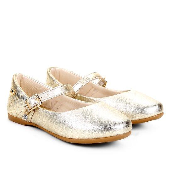 ee3eed336 Sapato Infantil Klin Princesa Baby Feminino - Dourado - Compre Agora ...
