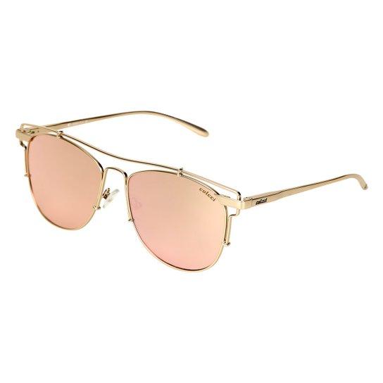 Óculos de Sol Colcci Revo Rose Gold Feminino - Dourado c2d5e77933