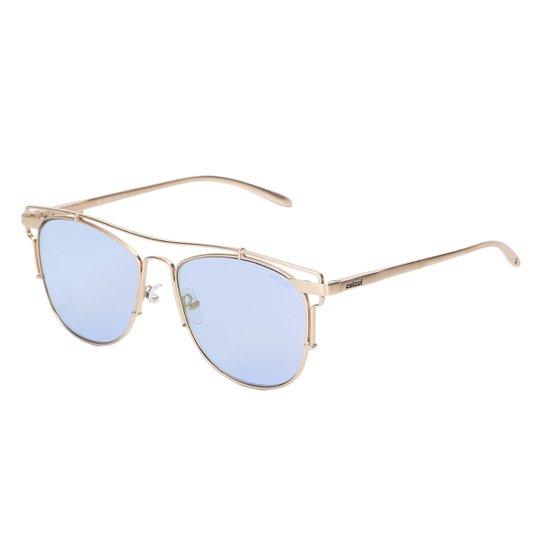 46bc25e16 Óculos de Sol Colcci Espelhado C0067 Feminino - Dourado   Netshoes