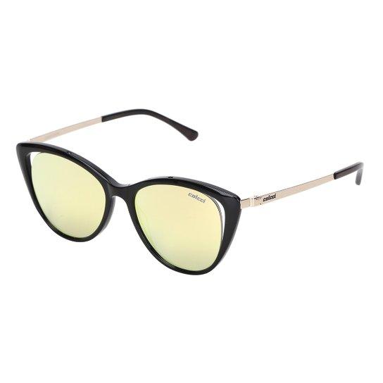 d23cd400f Óculos de Sol Colcci Espelhado C0094 Feminino - Dourado   Netshoes