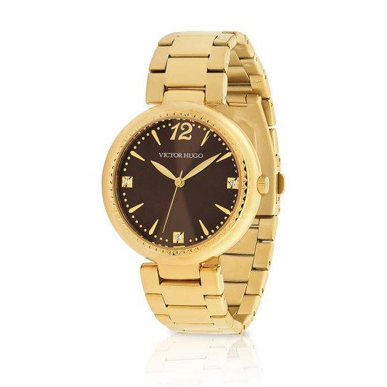 e090e7fcf25 Relógio Victor Hugo Analógico 10154LSG 12M Feminino - Compre Agora ...