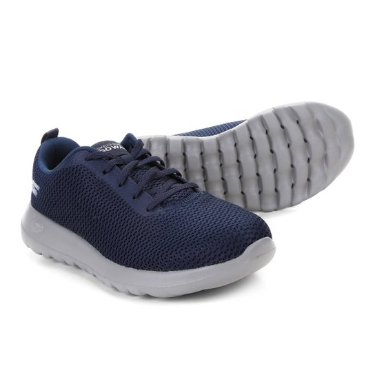 7117f9b533 Tênis Skechers Go Walk Max Masculino - Azul e Cinza | Netshoes