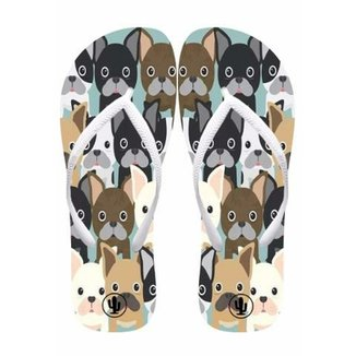 Chinelo Live  Lovely Dogs Feminino