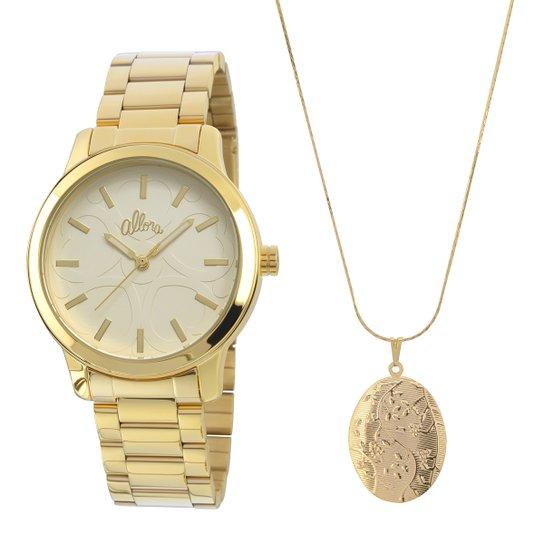 8a1a8445e58 Relógio Allora + Colar - Compre Agora