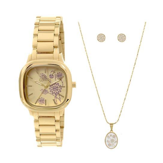 ef2ef9c5167 Relógio Allora + Colar e Brincos - Compre Agora