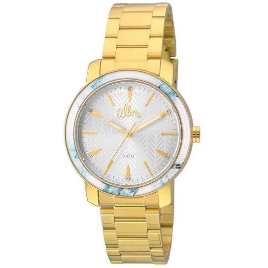 374bfdb58a9ff Relógio Allora Feminino AL2035FKF K4A + Colar e Brincos - Dourado ...