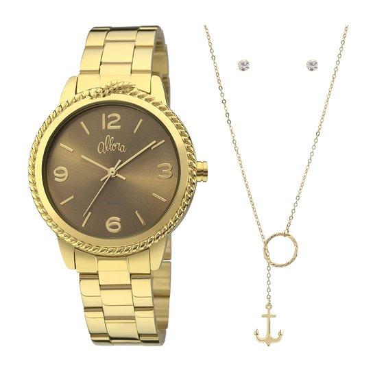 Kit Relógio Allora Coleção Nó de Marinheiro - Compre Agora   Netshoes 1609e989f2