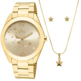 5620f1f57be Kit Relógio Allora Feminino