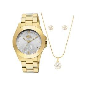 Relógio Allora + Colar e Brincos - Compre Agora   Netshoes 8d8ededdbf
