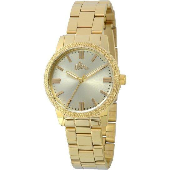 Relógio Feminino Allora Analógico Fashion - Dourado - Compre Agora ... bcc6015b8b