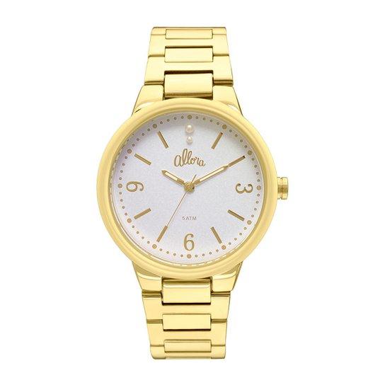 ba25bff0d2993 Relógio Allora Feminino Encanto da Sereia AL2035LO 4K - AL2035LO 4K -  Dourado