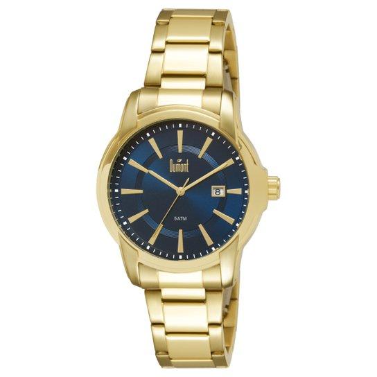 4f03061510c Relógio Dumont Caixa e Pulseira De Metal Banhado - Compre Agora ...