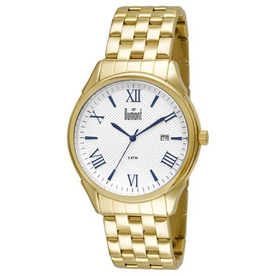 8d71c71a03e Relógio Dumont Caixa e Pulseira De Metal Banhado - Compre Agora ...