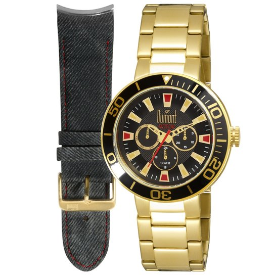 46aea1b2bb4 Relógio Dumont Masculino Rotor - Compre Agora