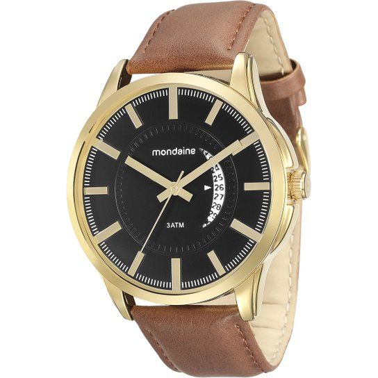 b3c38ec1118 Relógio Mondaine COURO 23 - Compre Agora