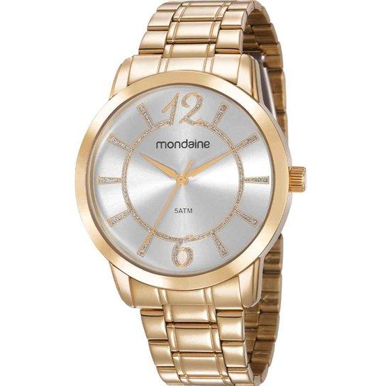 f0d11e2a5 Relógio Mondaine Feminino - Dourado - Compre Agora | Netshoes