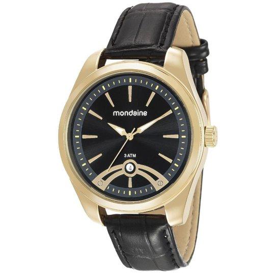 c2ee9820f6b Relógio Mondaine 76691gpmvdh2 Masculino - Dourado - Compre Agora ...