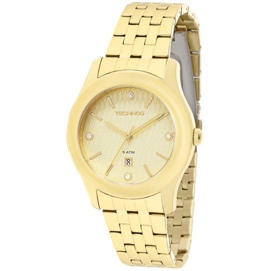 Relógio Technos Elegance Ladies - Dourado - Compre Agora   Netshoes 6877e41bcd